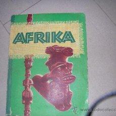 Coleccionismo Álbum: AFRICA. ALBUM ALEMAN COMPLETO AÑO 1952. UNA VISION DE LA AFRICA DE LOS AÑOS 50. Lote 34953173