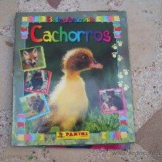 Coleccionismo Álbum: BABY ANIMALS. CACHORROS. ALBUM DE CROMOS PANINI COMPLETO. Lote 35347745