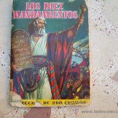 Coleccionismo Álbum: LOS DIEZ MANDAMIENTOS, ÁLBUM COMPLETO, EDITORIAL BRUGUERA,1959. Lote 38954817