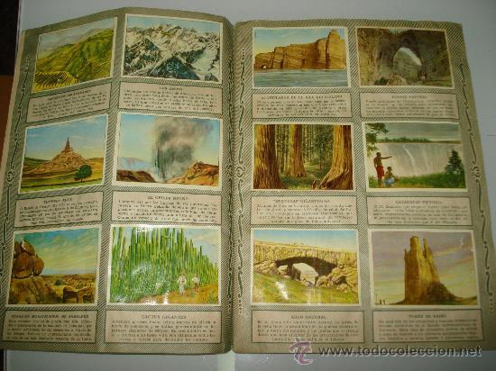 Coleccionismo Álbum: Antiguo Album ** MARAVILLAS DEL MUNDO ** Album I y II de Chocolates TORRAS .Año 1950s.. - Foto 2 - 35495660