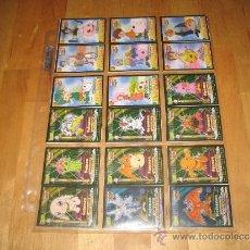 Coleccionismo Álbum: PANRICO BOLLYCAO DIGIMON DIGITAL MONSTERS COLECCIÓN COMPLETA 50 CROMOS STICKERS ANIME MANGA. Lote 35522424