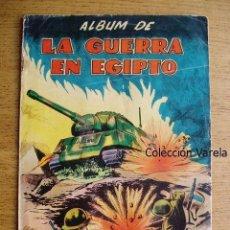 Coleccionismo Álbum: LA GUERRA EN EGIPTO - COMPLETO - JLV. Lote 35615168