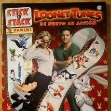 Coleccionismo Álbum: LOONEY TUNES DE NUEVO EN ACCIÓN. Lote 35791438