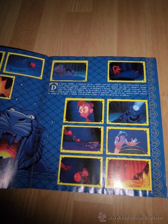 Coleccionismo Álbum: ALBUM ALADDIN COMPLETO PANINI - Foto 2 - 35843064