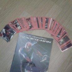 Coleccionismo Álbum: SPIDERMAN (THE AMAZING) COMPLETO CON TODOS LOS CROMOS SIN PEGAR. Lote 35848485