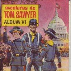 Coleccionismo Álbum: AVENTURAS DE TOM SAWYER ÁLBUM VI - ÁLBUM COMPLETO. Lote 36059006