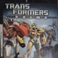 Coleccionismo Álbum: TRANSFORMERS (PRIME) COMPLETO PANINI. Lote 38437940