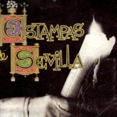 Coleccionismo Álbum: ALBUM ESTAMPAS DE SEVILLA. SEMANA SANTA. ALBUM DE CROMOS. COMPLETO. . Lote 36326635