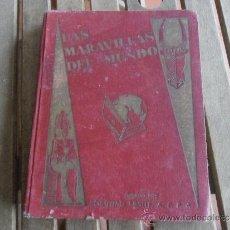 Coleccionismo Álbum: ALBUM LAS MARAVILLAS DE MUNDO DE NESTLE COMPLETO . Lote 36452537