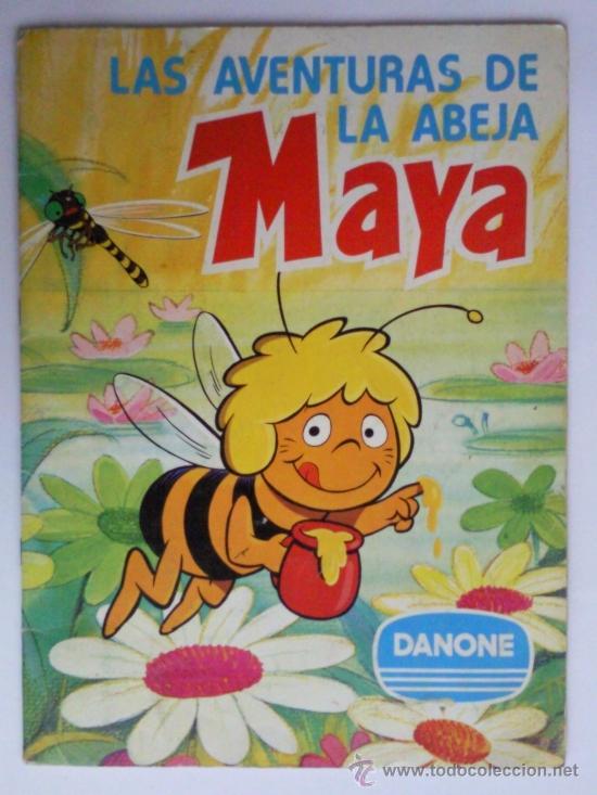 LAS AVENTURAS DE LA ABEJA MAYA, COLECCION DE 94 CROMOS, DANONE, COMPLETO (Coleccionismo - Cromos y Álbumes - Álbumes Completos)