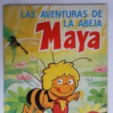 Coleccionismo Álbum: LAS AVENTURAS DE LA ABEJA MAYA, COLECCION DE 94 CROMOS, DANONE, COMPLETO. Lote 39602157