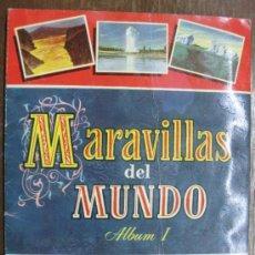 Collezionismo Álbum: ALBUM CROMOS MARAVILLAS DEL MUNDO.ALBUM I. COMPLETO CROMOS... Lote 36554138