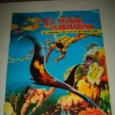 Coleccionismo Álbum: ÁLBUM DE CROMOS COMPLETO EL MUNDO SUBMARINO, FERMA 1957.. Lote 36587545