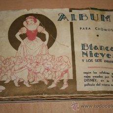 Coleccionismo Álbum: ÁLBUM BLANCANIEVES Y LOS SIETE ENANITOS (FHER) COMPLETO 1940. Lote 47162872
