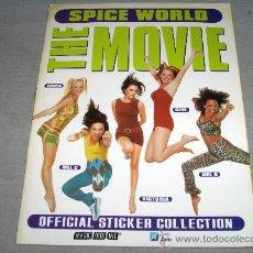 Coleccionismo Álbum: SPICE WORLD THE MOVIE COMPLETO. SPICE GIRLS. MAGIC BOX INT. MUY BUEN ESTADO. RARO.. Lote 36603485