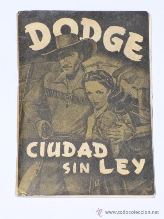 DODGE CIUDAD SIN LEY. ALBÚM ANTIGUO. COMPLETO DE CROMOS . (Coleccionismo - Cromos y Álbumes - Álbumes Completos)