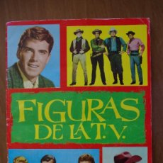 Coleccionismo Álbum: ALBUM 1965 DE FHER FIGURAS DE LA TV COMPLETO. Lote 36803961