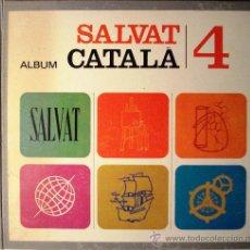 Coleccionismo Álbum: ALBUM SALVAT CATALA 4 - COMPLETO. Lote 37046808