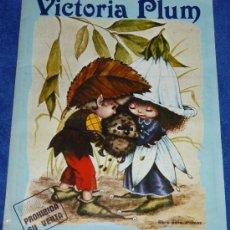 Coleccionismo Álbum: VICTORIA PLUM - FHER (1982). Lote 37538159