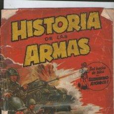 Coleccionismo Álbum: ALBUM HISTORIA DE LAS ARMAS (COMPLETO) 120 CROMOS. Lote 37551885