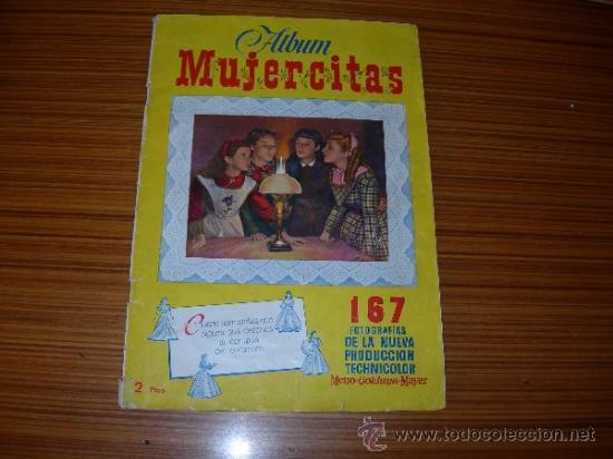 MUJERCITAS ALBUM COMPLETO 167 CROMOS DE CLIPER (Coleccionismo - Cromos y Álbumes - Álbumes Completos)