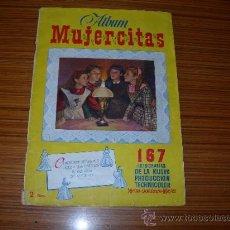 Coleccionismo Álbum: MUJERCITAS ALBUM COMPLETO 167 CROMOS DE CLIPER. Lote 45343000