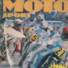 Coleccionismo Álbum: ALBUM DE CROMOS MOTO SPORT EDITORIAL PANINI COMPLETO 1980. Lote 37603326