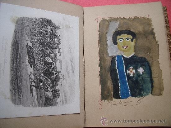 Coleccionismo Álbum: ALBUM CON 36 GRABADOS AL ACERO.-RECUERDO DEL PERSONAL DEDICA A DON CARLOS PINEDA.-AÑO 1889. - Foto 6 - 37614564