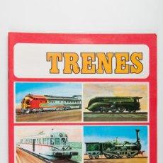 Coleccionismo Álbum: ALBUM DE CROMOS DE TRENES. Lote 37701734