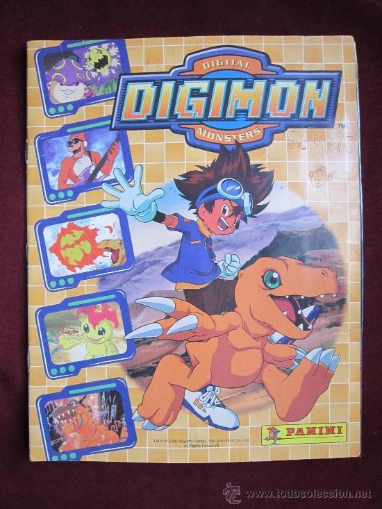 ALBUM DE CROMOS DIGITAL DIGIMON MONSTERS. COMPLETO. PANINI AÑO 2000. (Coleccionismo - Cromos y Álbumes - Álbumes Completos)