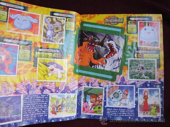 Coleccionismo Álbum: ALBUM DE CROMOS DIGITAL DIGIMON MONSTERS. COMPLETO. PANINI AÑO 2000. - Foto 3 - 37708236