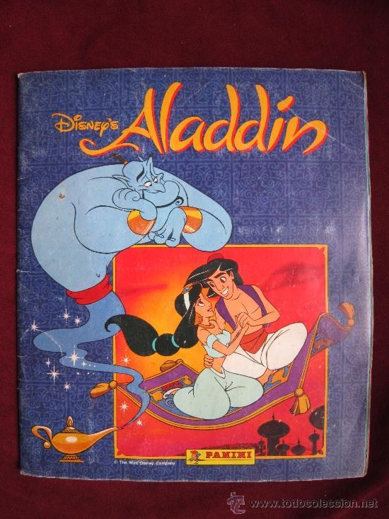 ALBUM ALADDIN. DISNEY. PANINI. COMPLETO (Coleccionismo - Cromos y Álbumes - Álbumes Completos)