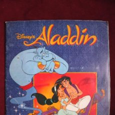 Coleccionismo Álbum: ALBUM ALADDIN. DISNEY. PANINI. COMPLETO. Lote 37709016