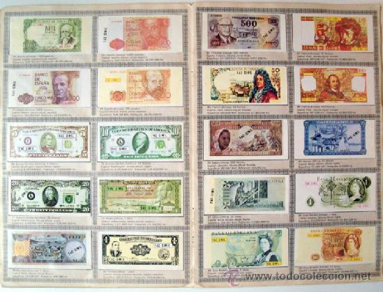 Album 1984 billetes del mundo ver fotos compl comprar for Coleccion cuchillos el mundo