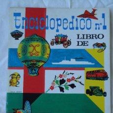Coleccionismo Álbum: ALBUM DE CROMOS ENCICLOPEDICO N° 1. COMPLETO AÑO 1972. -X. Lote 52622410