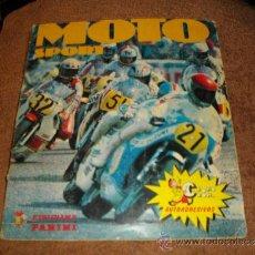 Coleccionismo Álbum: ALBUM DE CROMOS MOTO SPORT EDITORIAL PANINI COMPLETO VER FOTOS ADICIONALES. Lote 37965196