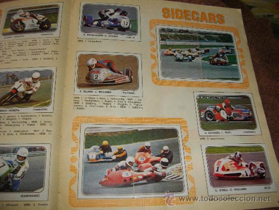 Coleccionismo Álbum: ALBUM DE CROMOS MOTO SPORT EDITORIAL PANINI COMPLETO VER FOTOS ADICIONALES - Foto 5 - 37965196