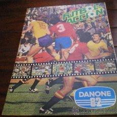Coleccionismo Álbum: ALBUM DE CROMOS FUTBOL EN ACCION 1982. Lote 38203570