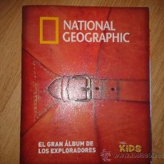 Coleccionismo Álbum: NATIONAL GEOGRAPHIC KIDS 2 (COMPLETO). Lote 40991687