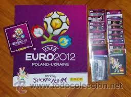 COLECCION COMPLETA EUROCOPA 2012 PANINI, EURO 2012 ( 540 CROMOS + ALBUM ) COMPLETO (Coleccionismo - Cromos y Álbumes - Álbumes Completos)
