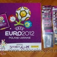 Coleccionismo Álbum: COLECCION COMPLETA EUROCOPA 2012 PANINI, EURO 2012 ( 540 CROMOS + ALBUM ) COMPLETO. Lote 165717978