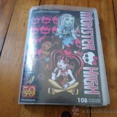 Coleccionismo Álbum: MONSTER HIGH, COLLECTORS BINDER, 108 PHOTOCARDS. PANINI. TOTAL SON 108 POSTALES. Lote 38633110