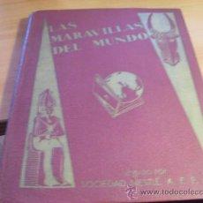 Coleccionismo Álbum: LAS MARAVILLAS DEL MUNDO Nº 1 (NESTLE) ALBUM COMPLETO CON SERIES 1 A 40 (ALB3). Lote 38678457