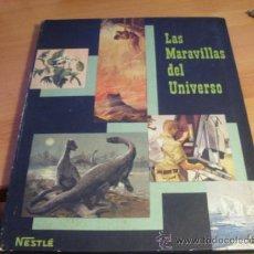 Coleccionismo Álbum: LAS MARAVILLAS DEL UNIVERSO. ALBUM COMPLETO NESTLE (ALB3). Lote 38679007