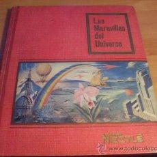 Coleccionismo Álbum: LAS MARAVILLAS DEL UNIVERSO. ALBUM COMPLETO NESTLE (ALB3). Lote 38679049