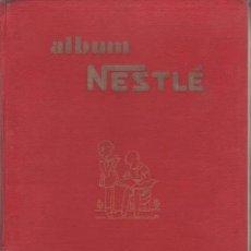Coleccionismo Álbum: ALBUM NESTLE (EDICIÓN DE LUJO). TOMO I. ALBUM DE CROMOS.. Lote 38780867