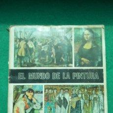 Coleccionismo Álbum: ALBUM EL MUNDO DE LA PINTURA DE DIFUSORA DE CULTURA. Lote 38812633