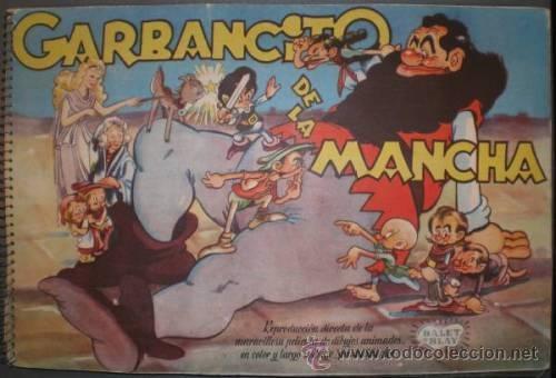 GARBANCITO DE LA MANCHA. ALBUM DE CROMOS (Coleccionismo - Cromos y Álbumes - Álbumes Completos)