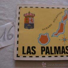 Coleccionismo Álbum: ANTIGUO ALBUM DE CROMOS DE LAS PALMAS - CLUB JUVENIL DE LA CAJA INSULAR DE AHORROS DE GRAN CANARIA. Lote 38899617