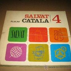 Coleccionismo Álbum: ALBUM DE CROMOS SALVAT CATALA 4 - COMPLETO. Lote 38920548